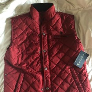 US Polo quilted vest, New with tags men's M